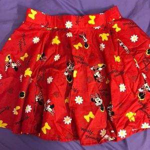 Dresses & Skirts - Minnie mouse printed skater skirt
